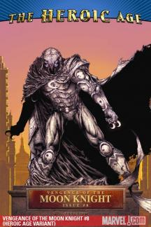 Vengeance of the Moon Knight (2009) #8 (HEROIC AGE VARIANT)
