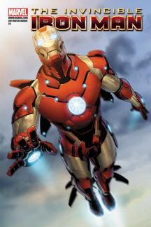 Invincible Iron Man (2008) #25 (2ND PRINTING VARIANT)