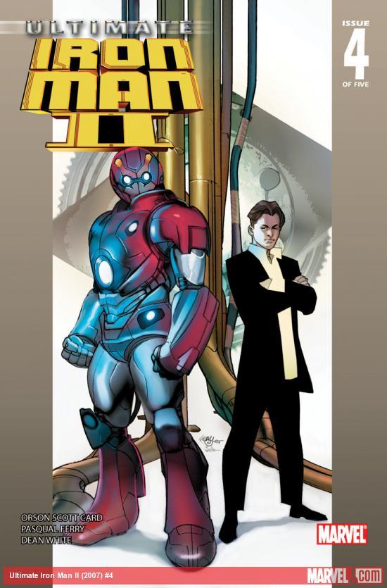 Ultimate Iron Man II (2007) #4