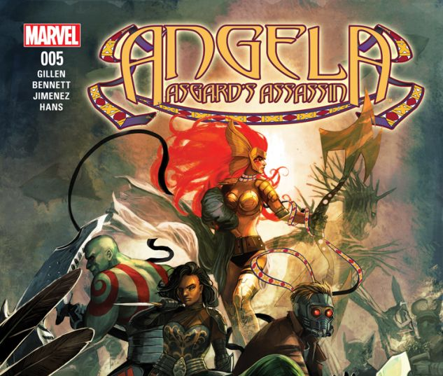 ANGELA: ASGARD'S ASSASSIN 5 (WITH DIGITAL CODE)