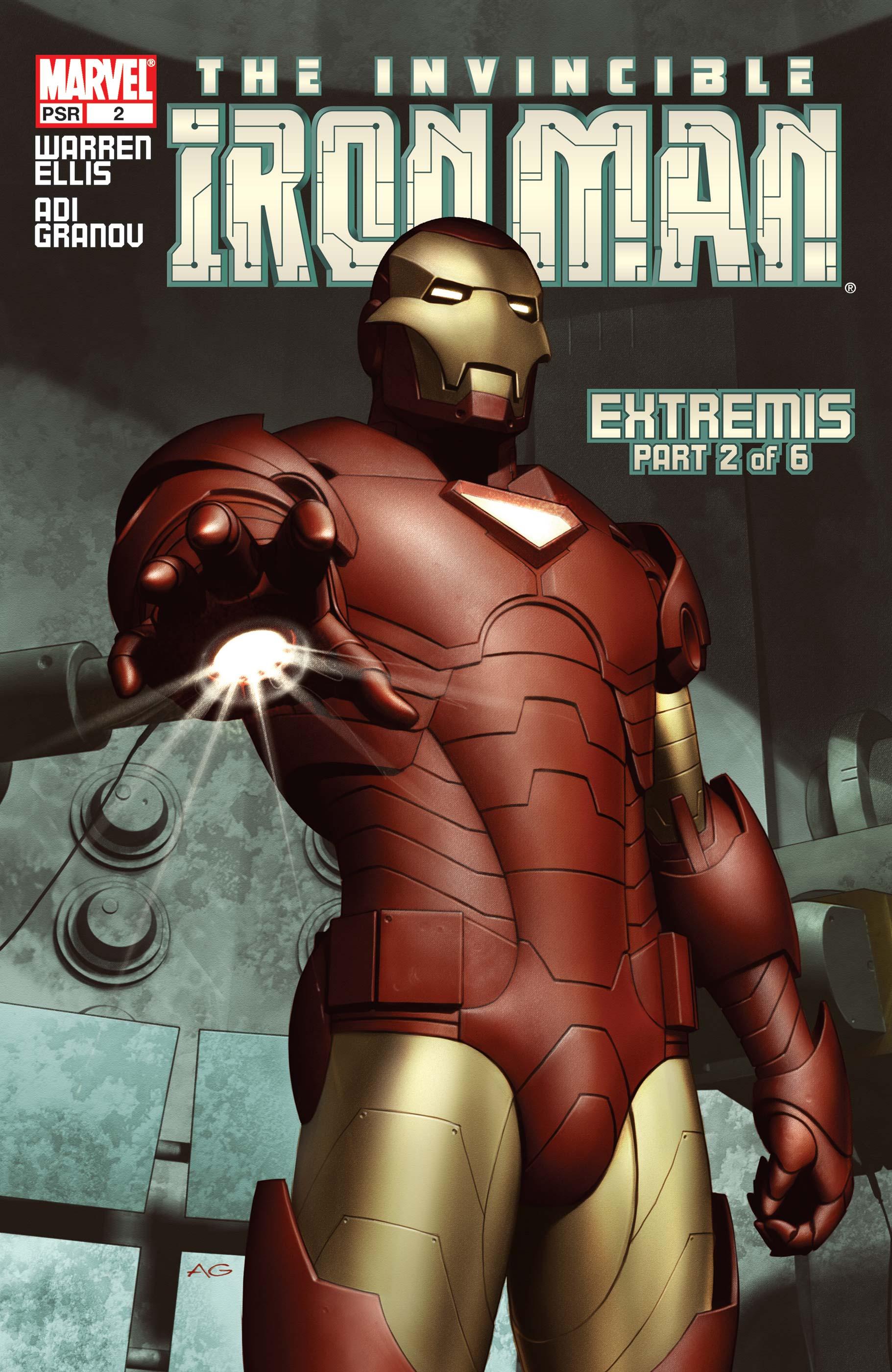 The Invincible Iron Man (2004) #2