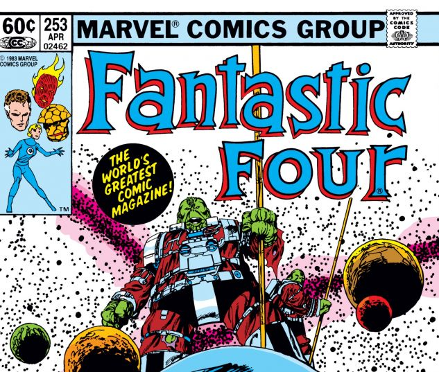 Fantastic Four (1961) #253