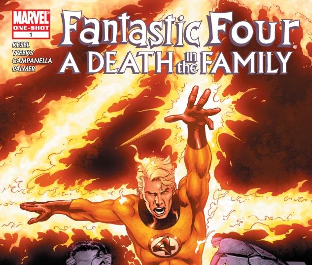 FANTASTIC FOUR: A DEATH IN THE FAMILY (2006) #1
