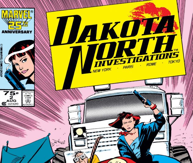 cover from Dakota North (1986) #2