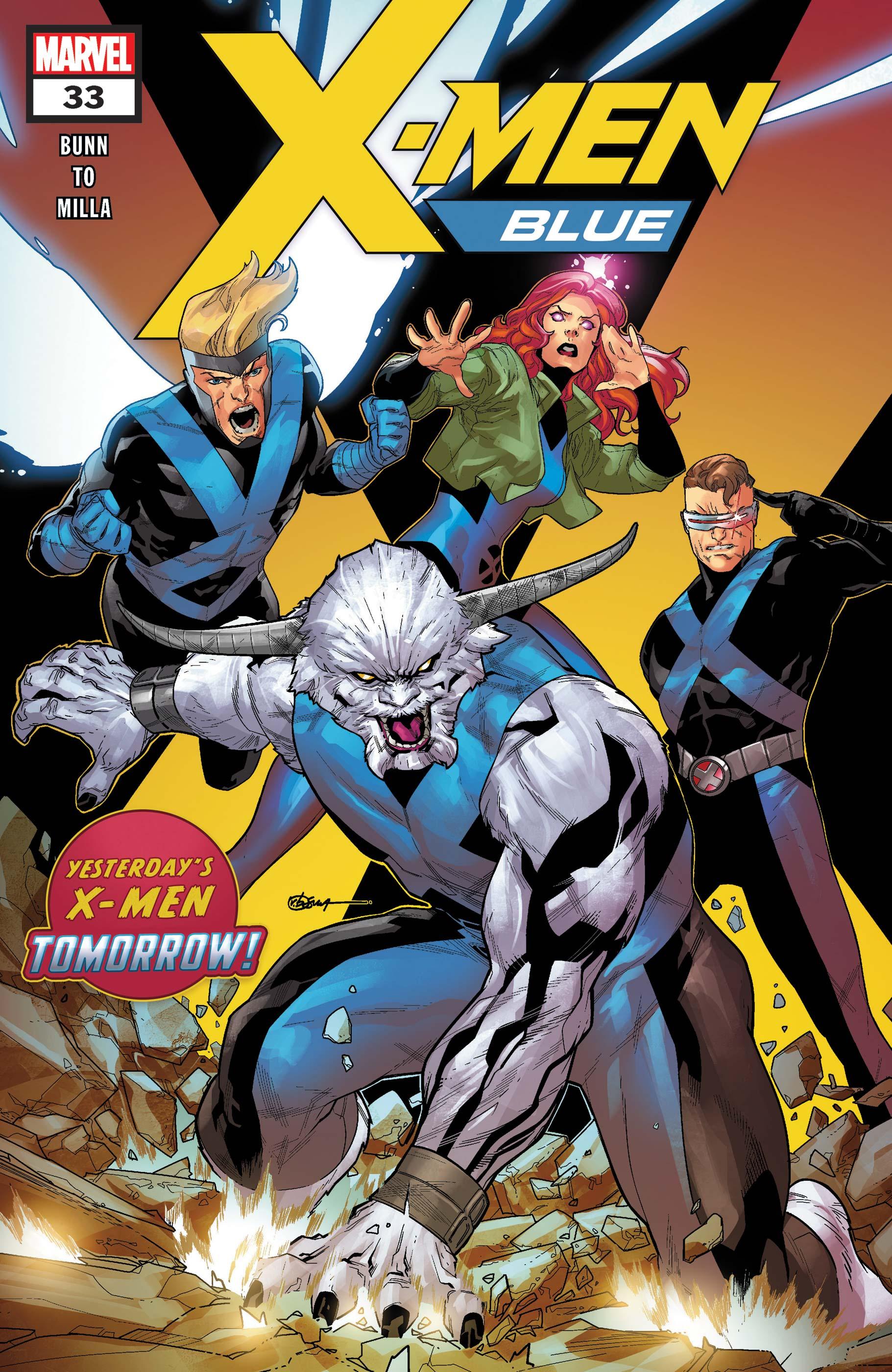 X-Men: Blue (2017) #33