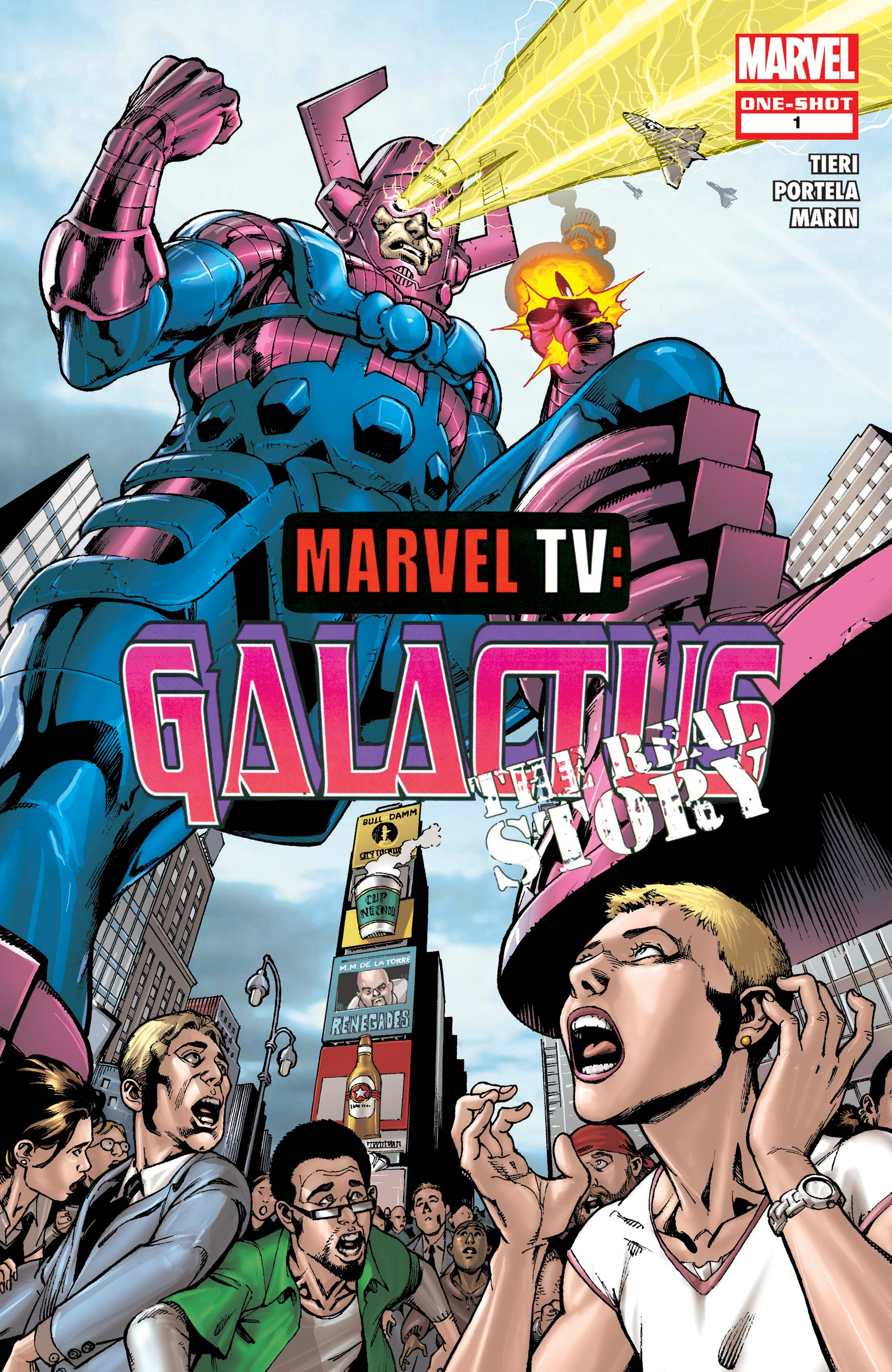 Marvel TV: Galactus - The Real Story (2009) #1