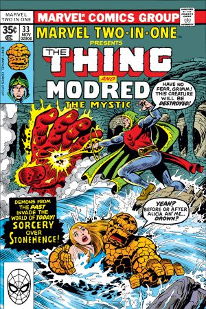 Marvel Two-in-One (1974) #33