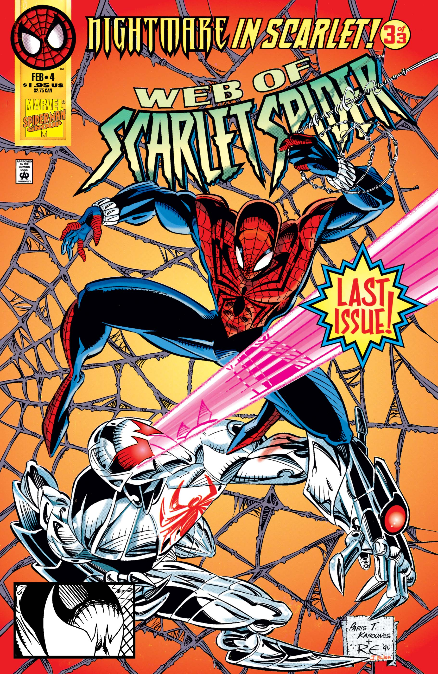 Web of Scarlet Spider (1995) #4