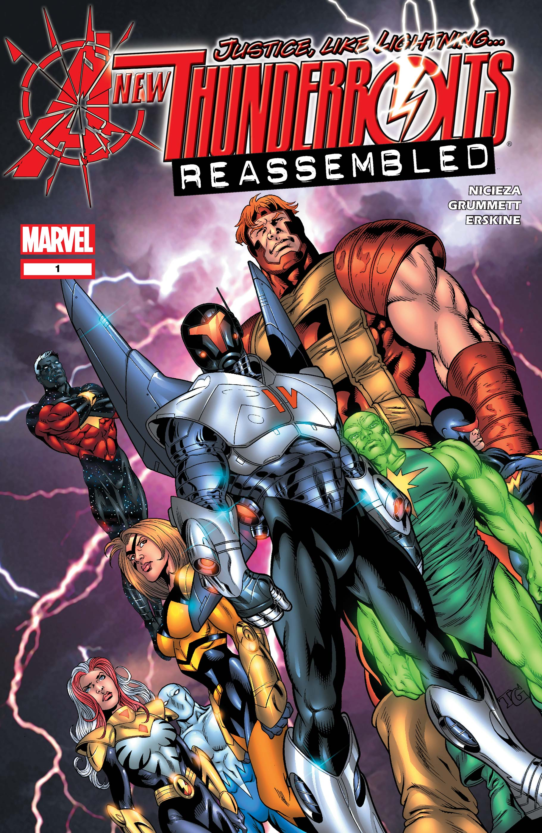 New Thunderbolts (2004) #1