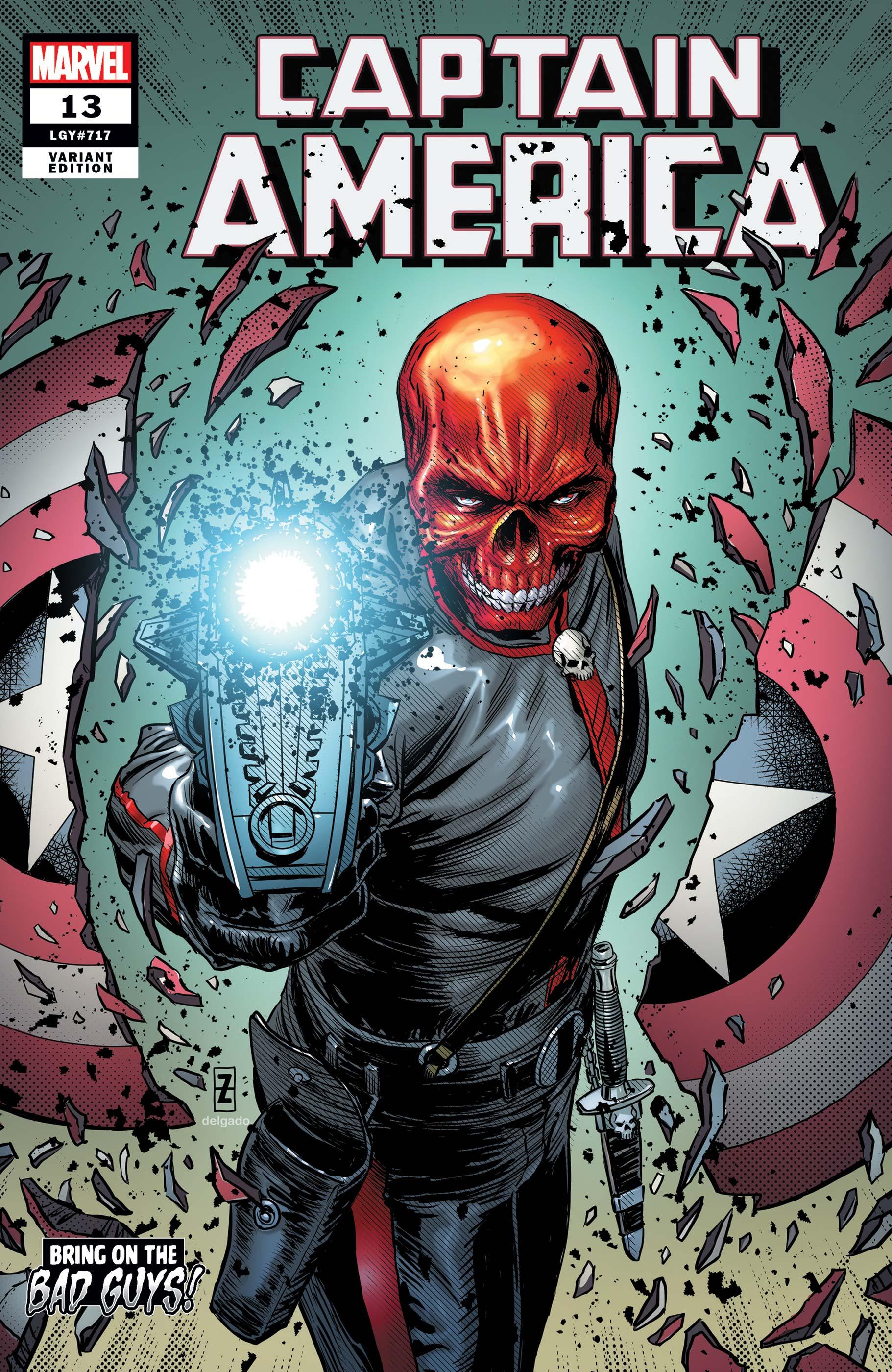 Captain America (2018) #13 (Variant)