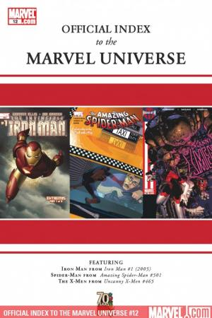 Official Index to the Marvel Universe (2009) #12
