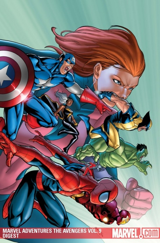 Marvel Adventures the Avengers Vol. 9 Digest (Digest)
