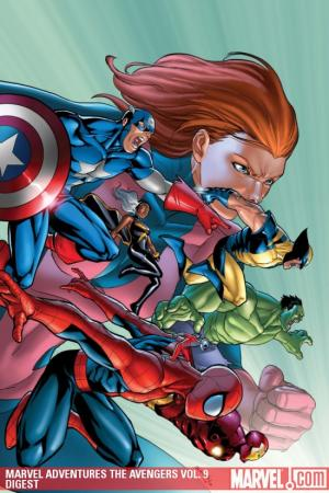 MARVEL ADVENTURES THE AVENGERS VOL. 9: THE TIMES THEY ARE A-CHANGIN' DIGEST (Digest)