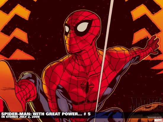 Spider-Man: With Great Power... (2008) #5 Wallpaper