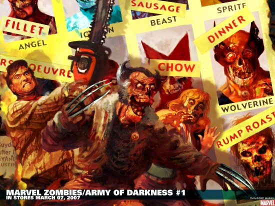 Marvel Zombies/Army of Darkness (2007) #1 Wallpaper