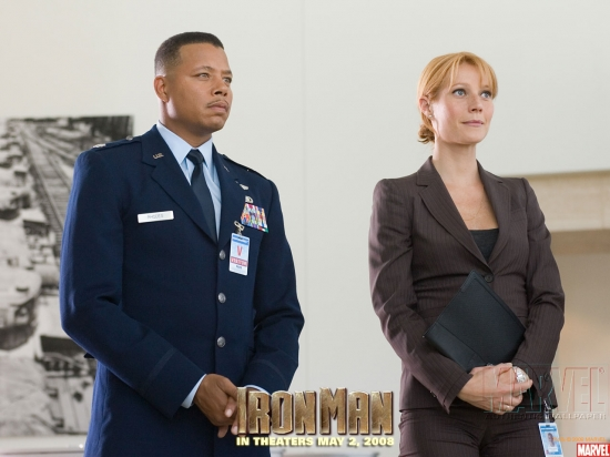 Iron Man Movie: James Rhodes and Pepper Potts #1