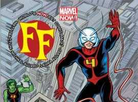 FF (2012) #1 cover by Mike Allred