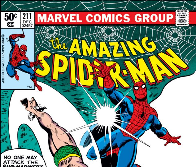 Amazing Spider-Man (1963) #211 Cover