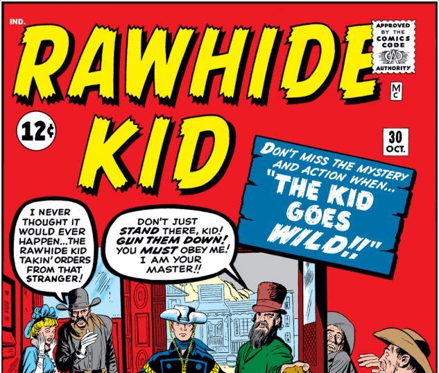 Rawhide Kid (1960) #30 Cover