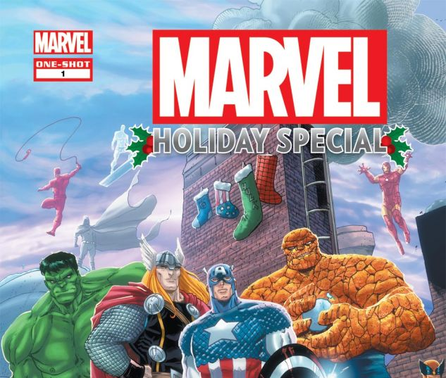 MARVEL HOLIDAY COMIC 2011 (2011) #1 Cover