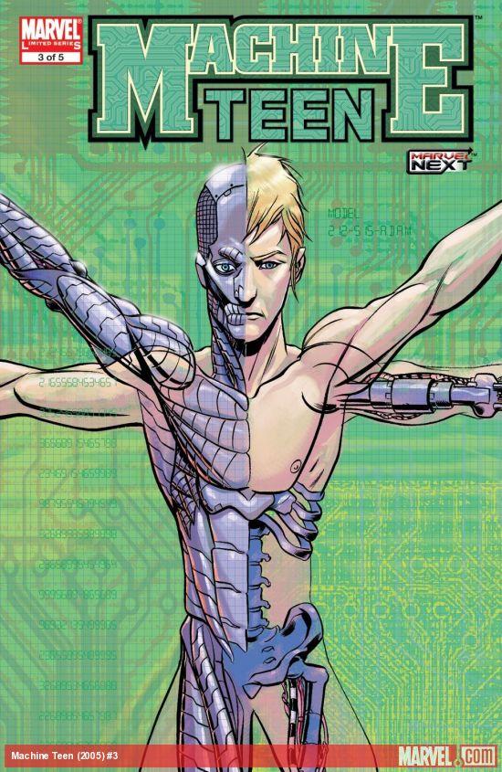Machine Teen (2005) #3