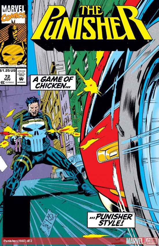 The Punisher (1987) #72