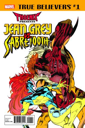 True Believers: Phoenix Presents Jean Grey Vs. Sabretooth (2017) #1