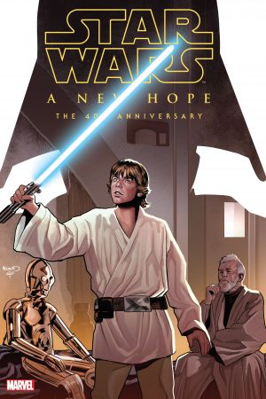 Star Wars: A New Hope - The 40th Anniversary (Hardcover)