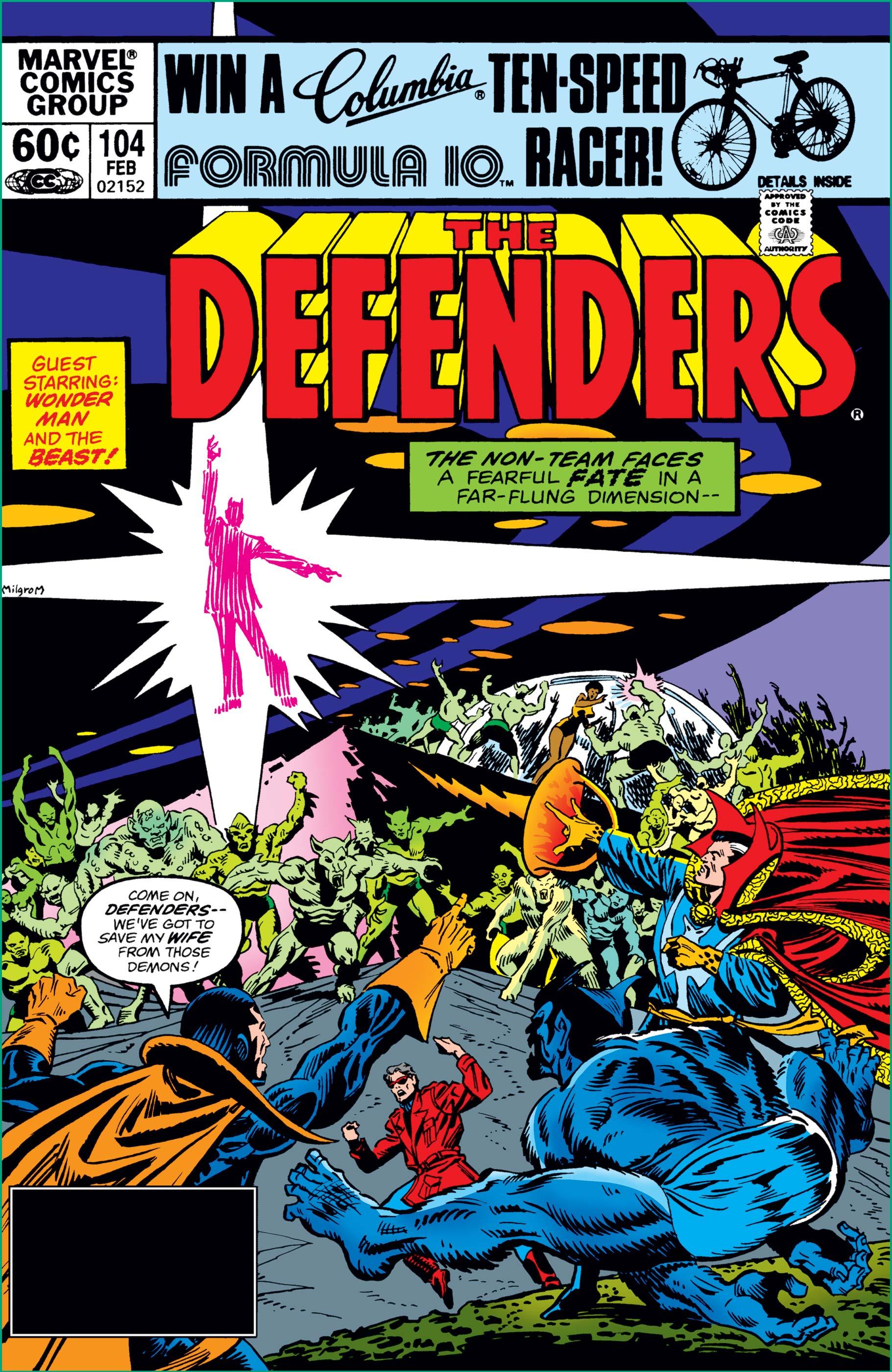 Defenders (1972) #104