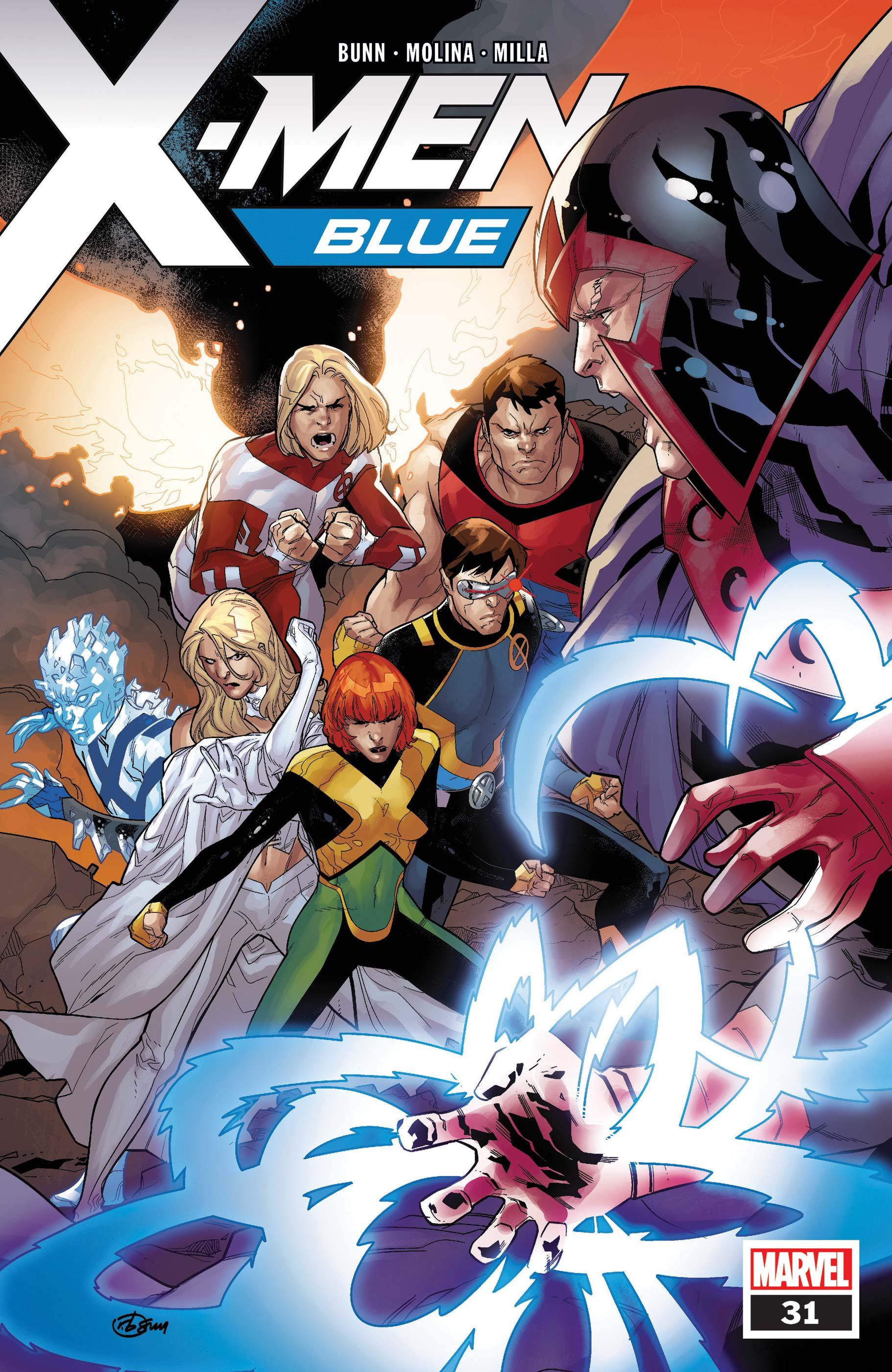 X-Men: Blue (2017) #31