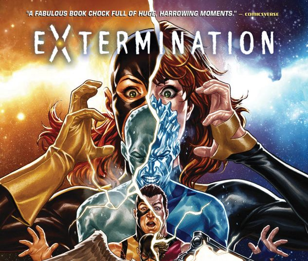 cover from EXTERMINATION HC (2018) #1