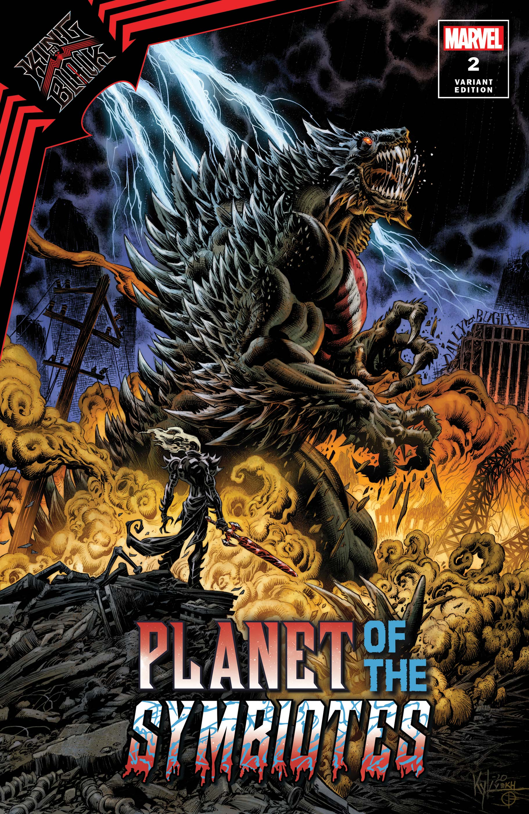 King in Black: Planet of the Symbiotes (2021) #2 (Variant)