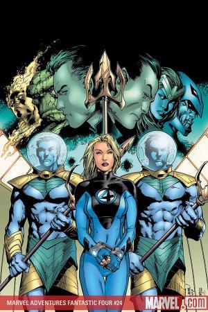 Marvel Adventures Fantastic Four #24