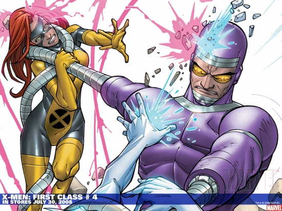 X-Men: First Class (2006) #4 Wallpaper