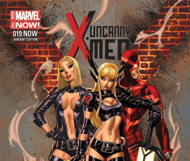 UNCANNY X-MEN 19.NOW CAMPBELL VARIANT (ANMN, WITH DIGITAL CODE)