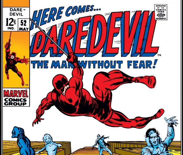 DAREDEVIL (1964) #52 Cover