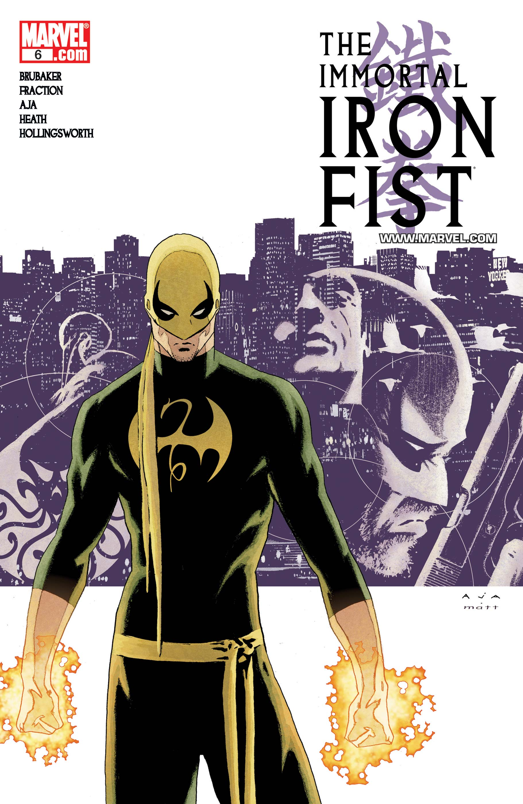 The Immortal Iron Fist (2006) #6