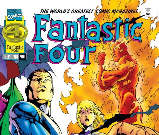 FANTASTIC FOUR (1961) #416