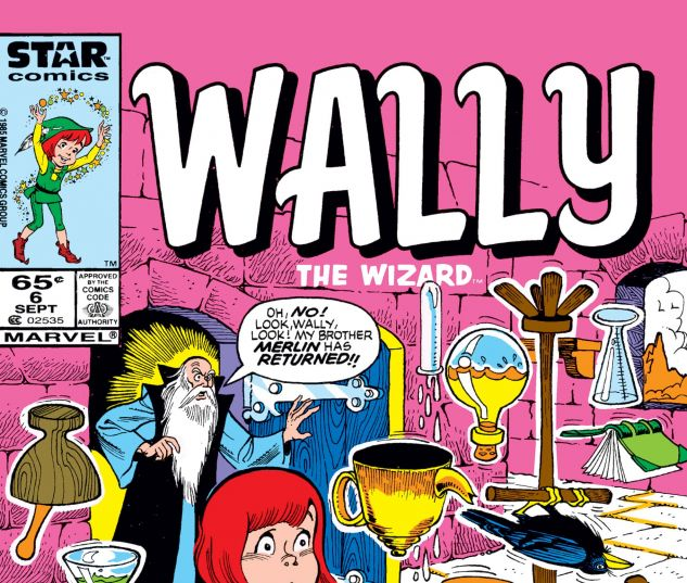 cover from Wally the Wizard (1985) #6