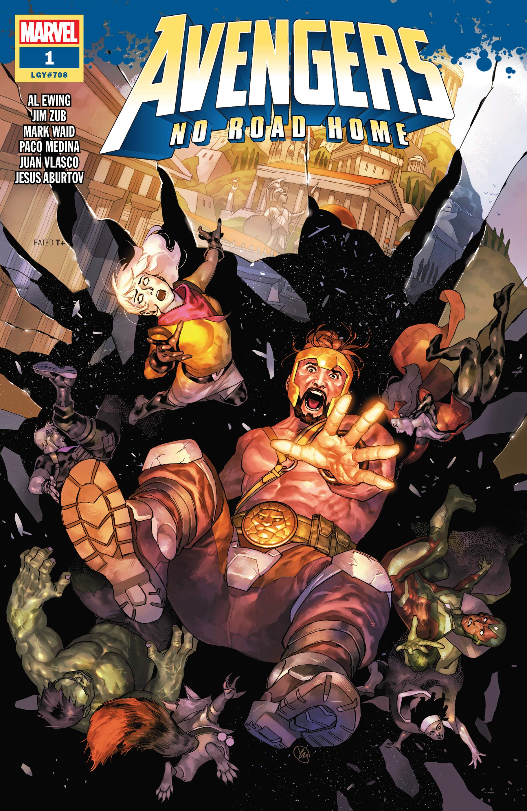 Avengers No Road Home (2019) #1