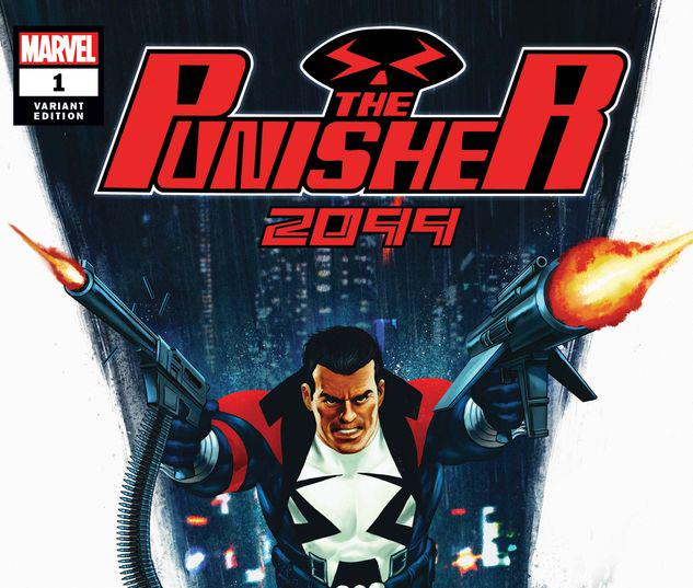 THE PUNISHER 2099 1 EPTING VARIANT #1