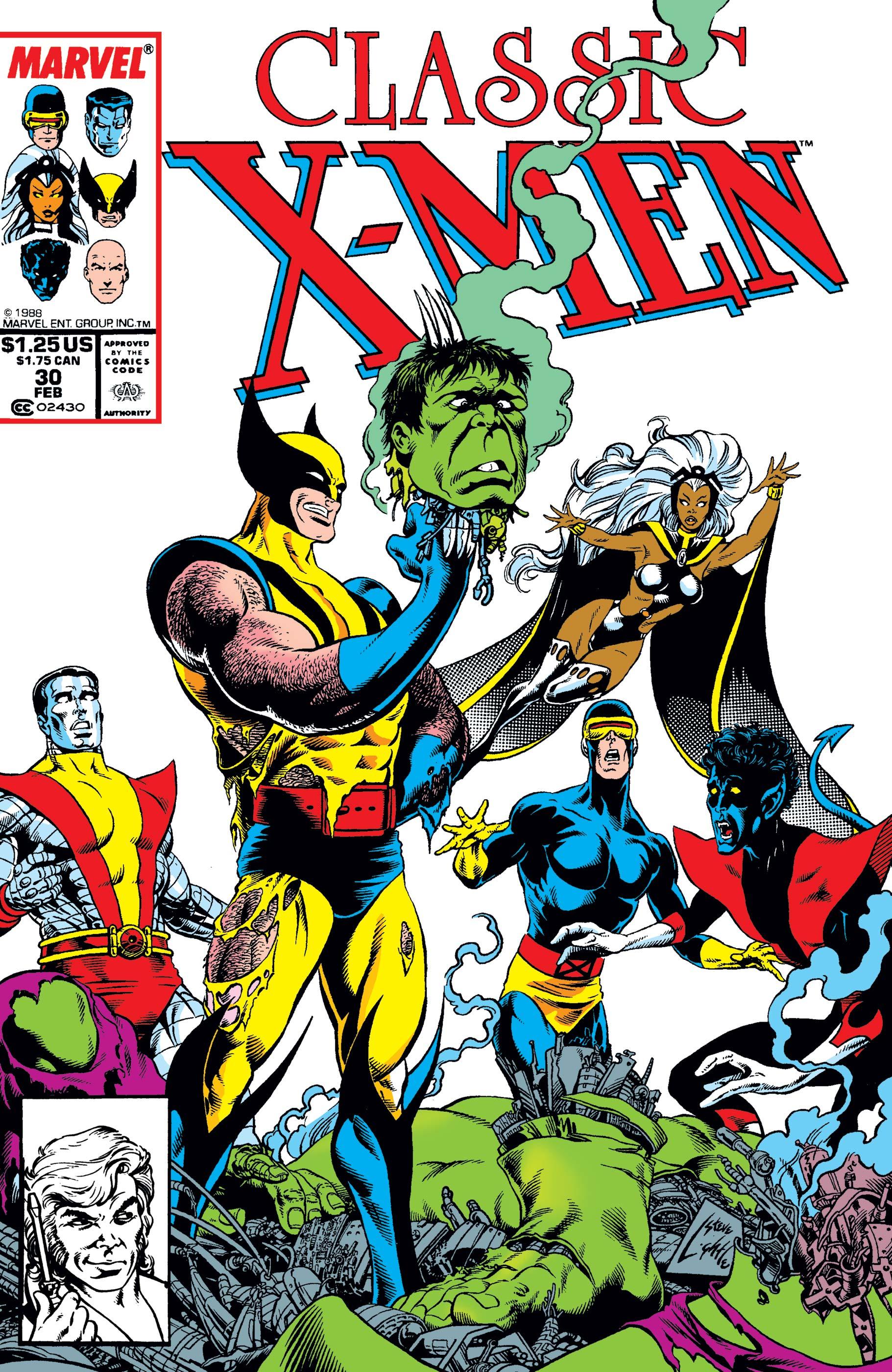 Classic X-Men (1986) #30