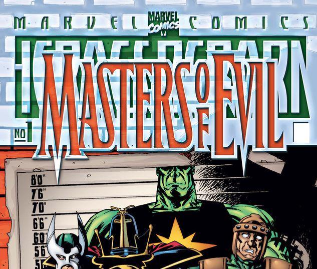 HEROES REBORN MASTERS OF EVIL 1 #1