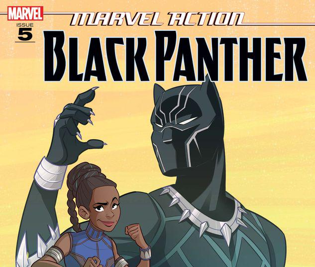 Marvel Action Black Panther #5