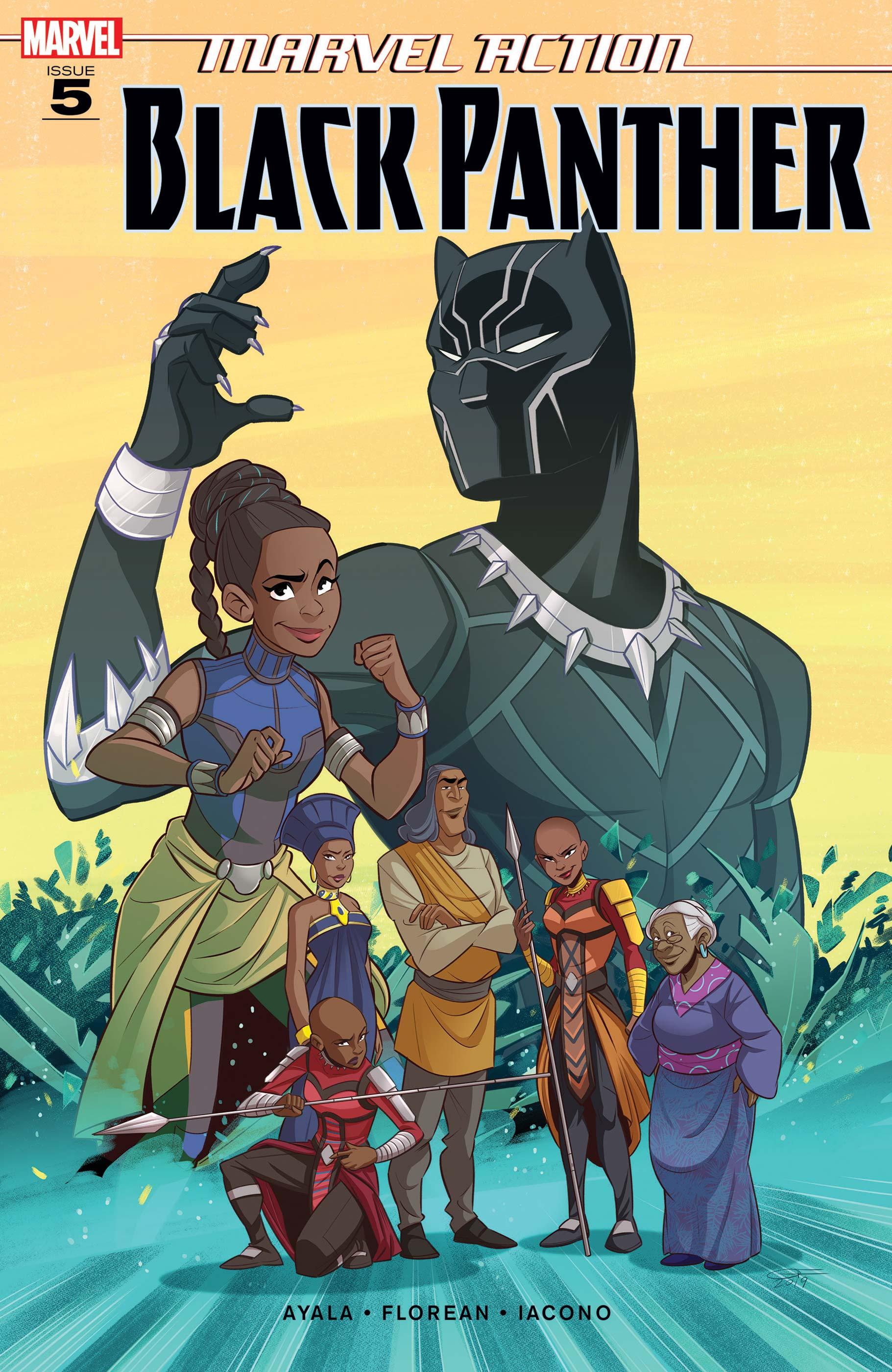Marvel Action Black Panther (2019) #5