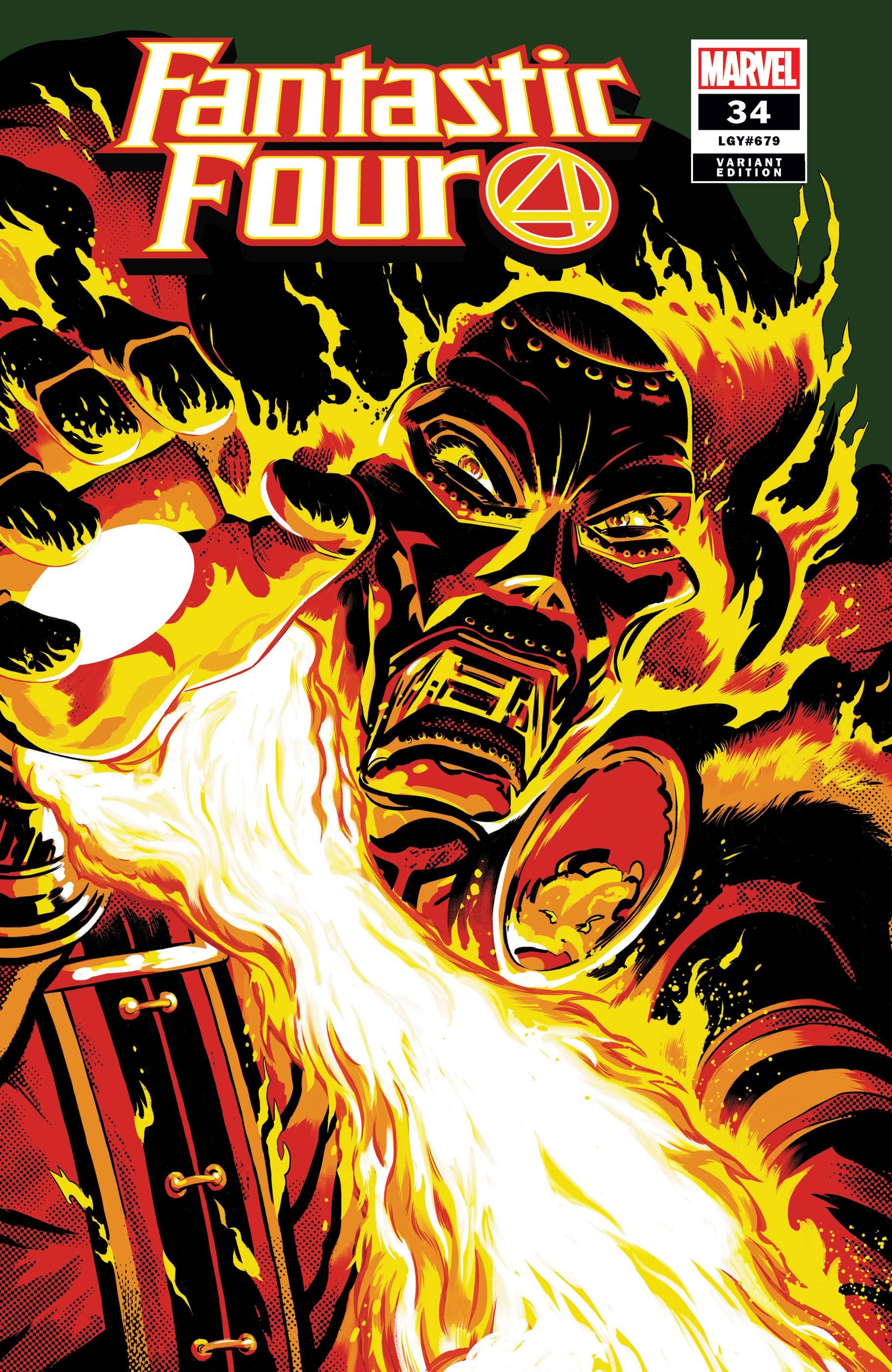 Fantastic Four (2018) #34 (Variant)