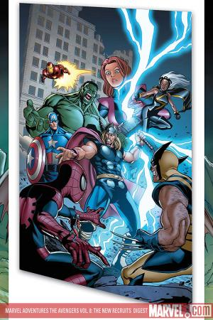 MARVEL ADVENTURES THE AVENGERS VOL. 8: THE NEW RECRUITS DIGEST (Digest)