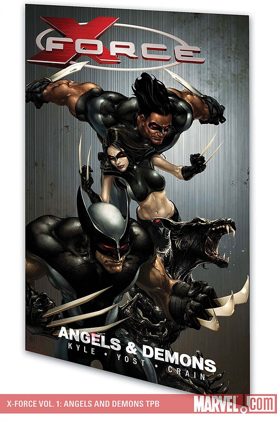 X-Force Vol. 1: Angels and Demons (Trade Paperback)