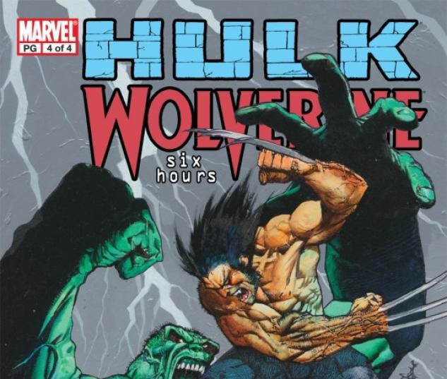 HULK/WOLVERINE: 6 HOURS #4