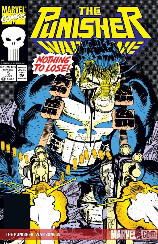 The Punisher War Zone (1992) #5
